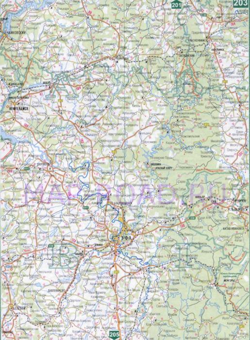 Карта железных дорог пермского