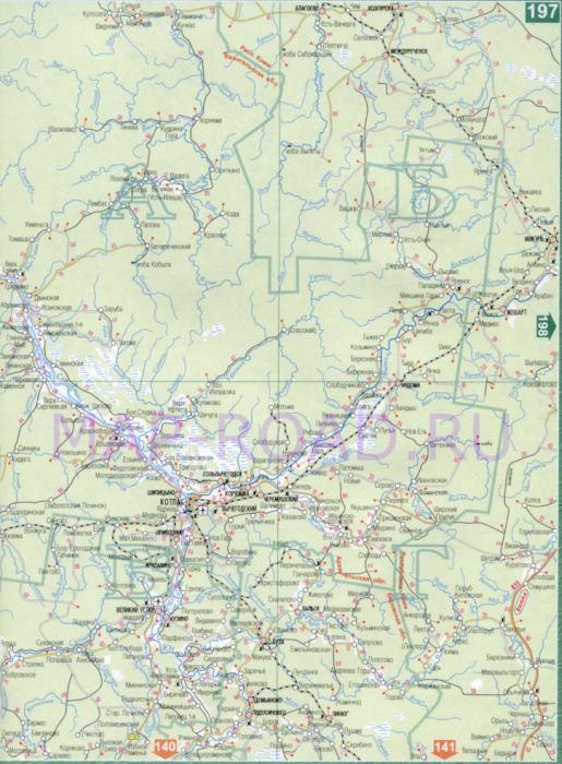 Карта Волгограда