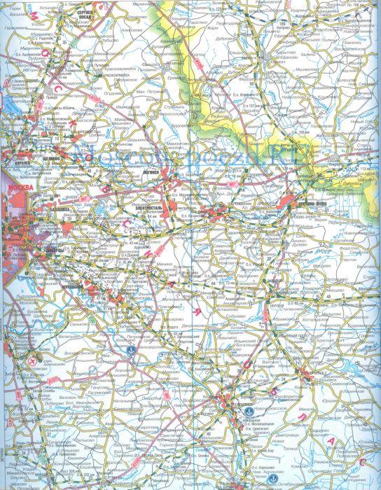 Схема жд московской области.