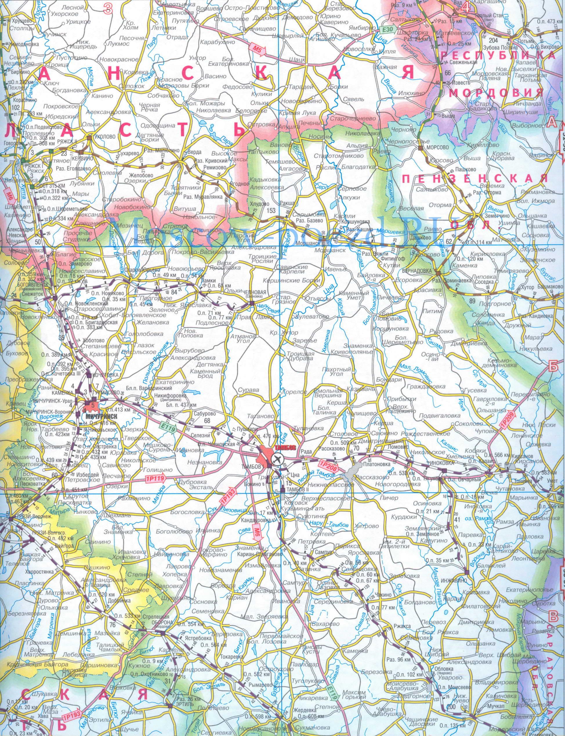 Карта Новосибирска со спутника Спутниковая карта г