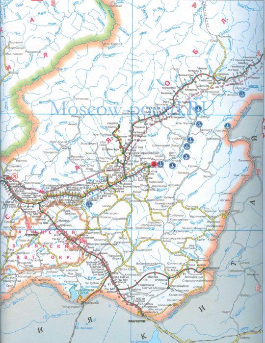 Карта Забайкальской железной дороги. Карта жд Читинской ...: http://moscow-poezd.ru/458036.html